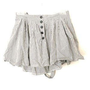H&M suspenders skirt -4